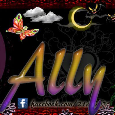 Portadas para tu Facebook con tu nombre, Ally