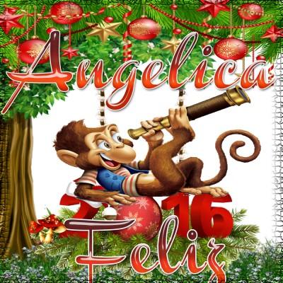 Feliz Año 2016!!!Angelica