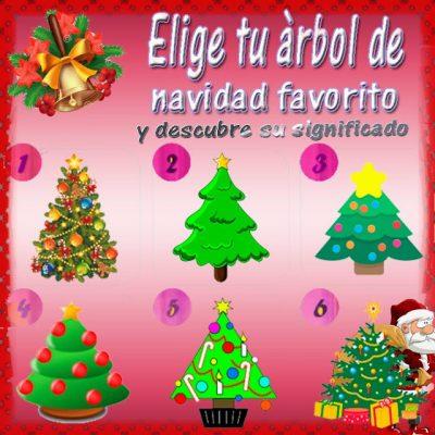 Test de los árboles de navidad.