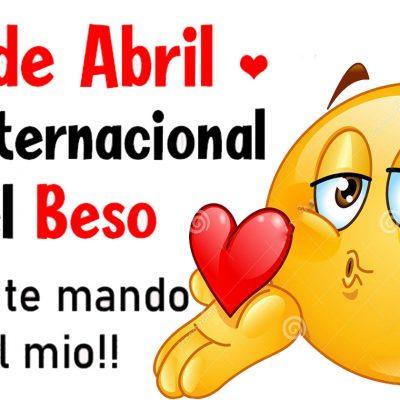 Feliz Día Internacional del Beso.