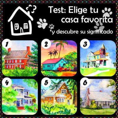 El test de las casas.