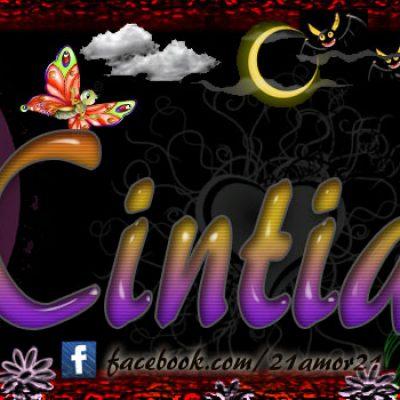 Portadas para tu Facebook con tu nombre,CINTIA
