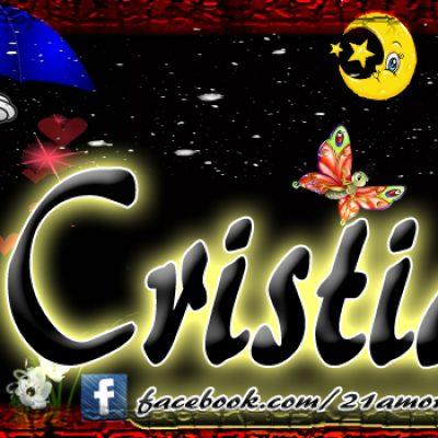Portadas para tu Facebook con tu nombre,Cristian