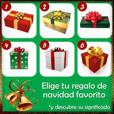 El test de los regalos de Navidad.