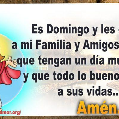 Familia y Amigos que tengan un bonito Domingo y lo bueno llegue a su vida
