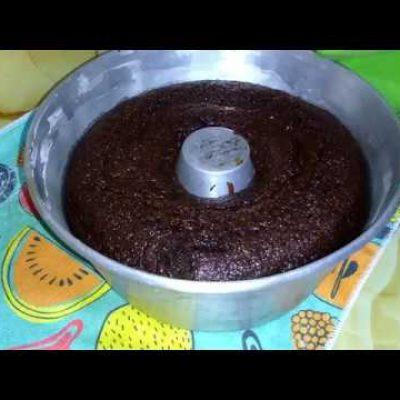 Bizcocho de Chocolate de Licuadora Simple y Rápido (Mojadito)