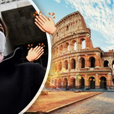 Italia empieza a ver la luz: la curva de nuevos contagios disminuye.