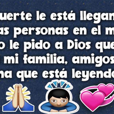Dios te guarde a ti y a toda tu Familia y amigos…