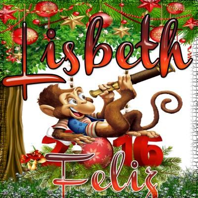 Feliz Año 2016!!!Lisbeth