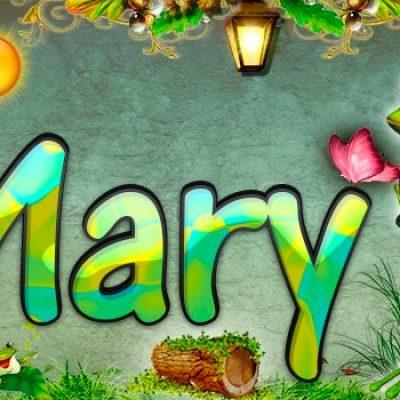 Portadas para tu Facebook de la Rana con tu nombre,Mary