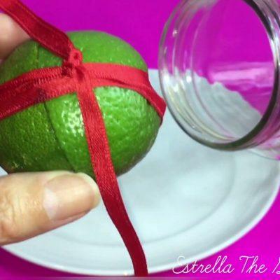 Amarre con limón