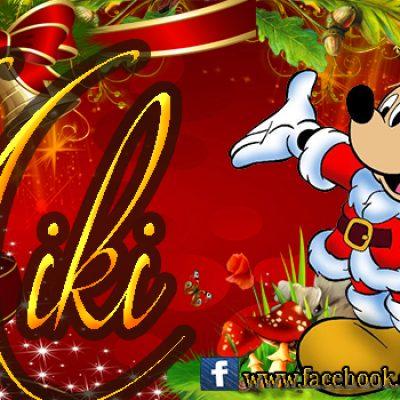 Portadas de Navidad con tu Nombre, de MICKEY,Miki!!!