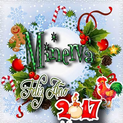 Lindas tarjetas para perfil con tu nombre 2017!!! Minerva