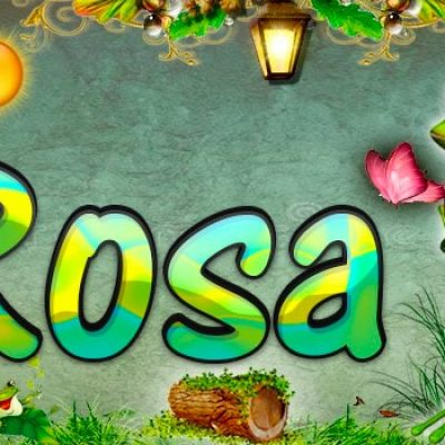 Portadas para tu Facebook de la Rana con tu nombre,Rosa