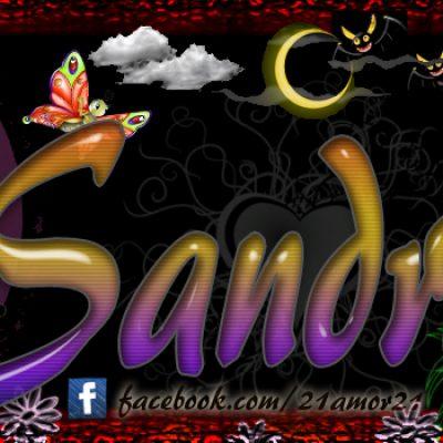 Portadas para tu Facebook con tu nombre, Sandra