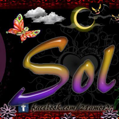 Portadas para tu Facebook con tu nombre, Sol