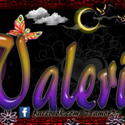 Portadas para tu Facebook con tu nombre,Valeria