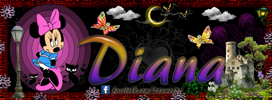 Portadas para tu Facebook con tu nombre,Diana