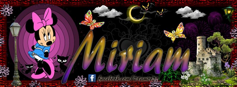 Portadas para tu Facebook con tu nombre,Miriam