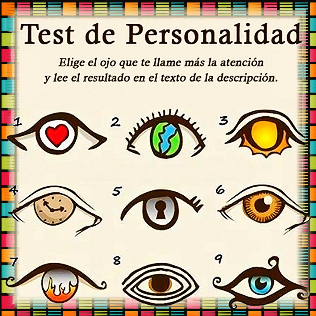 Test de Personalidad de los Ojos