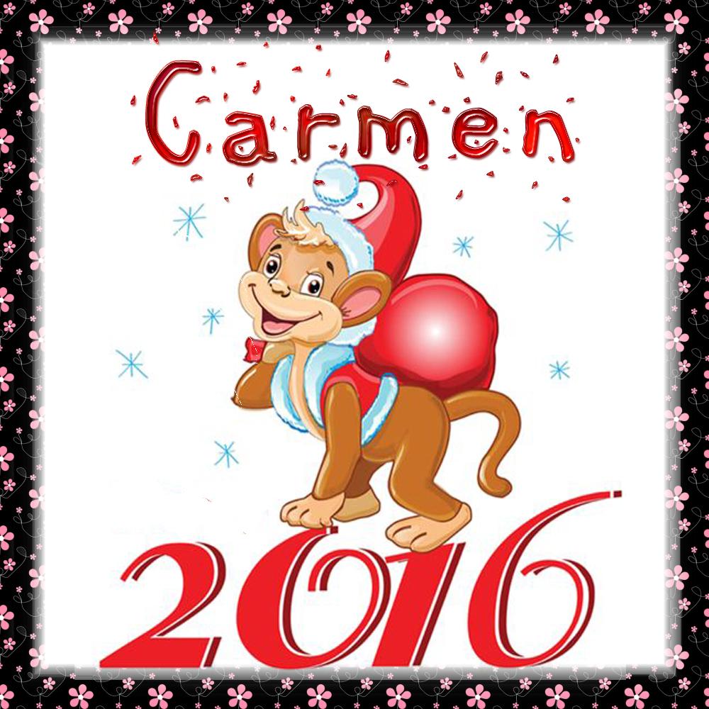 Feliz Año 2016!!!Carmen