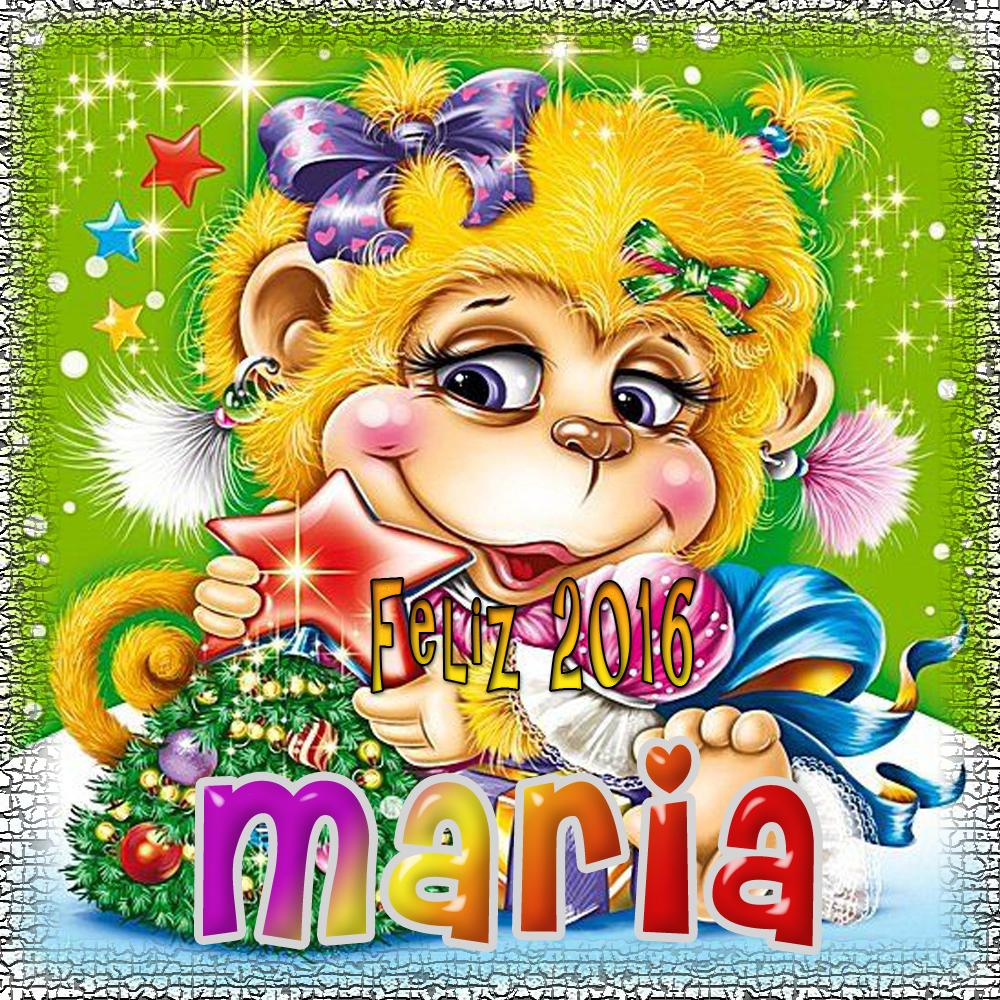 Feliz Año 2016!!!Maria
