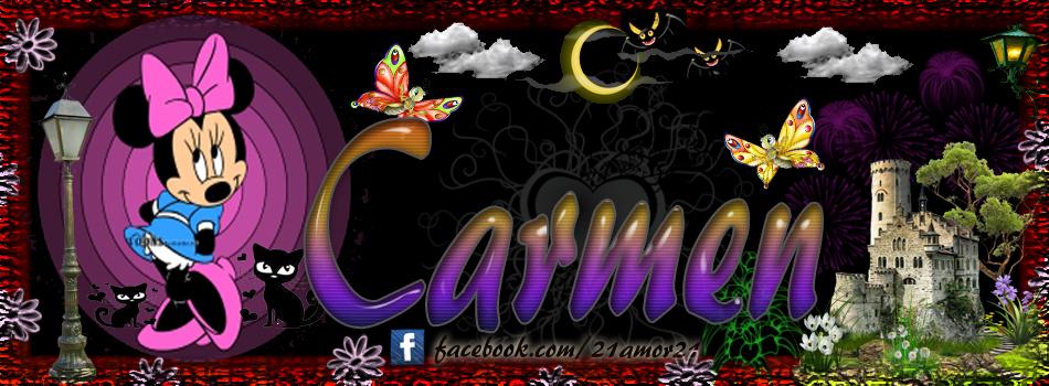 Portadas para tu Facebook con tu nombre, Carmen