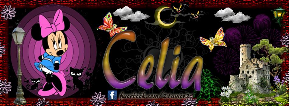 Portadas para tu Facebook con tu nombre, Celia