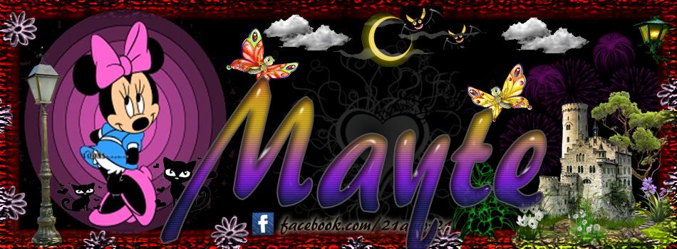 Portadas para tu Facebook con tu nombre, Mayte
