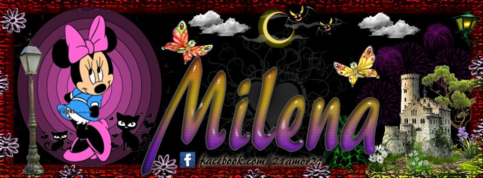 Portadas para tu Facebook con tu nombre, Milena