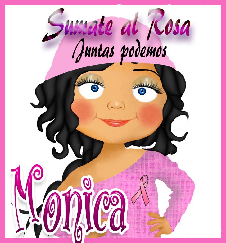 19 de Octubre Día mundial contra el Cancer.Monica