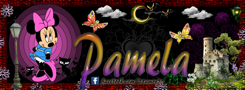 Portadas para tu Facebook con tu nombre, Pamela