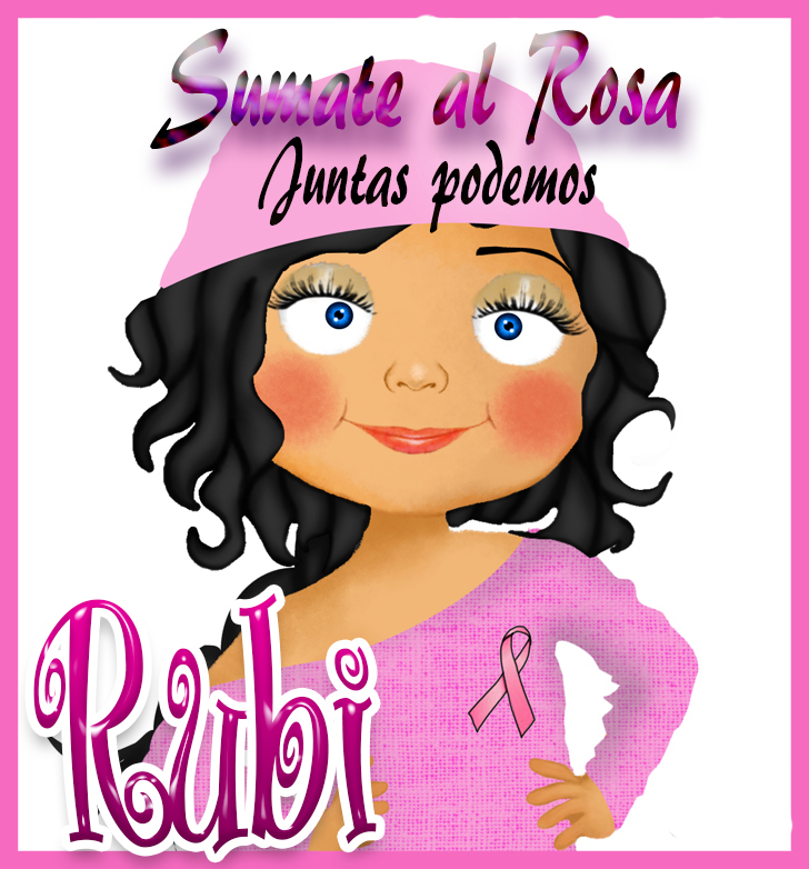 19 de Octubre Día mundial contra el Cancer.Rubi