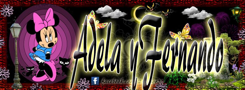 Portadas para tu Facebook con tu nombre, Adela y Fernando