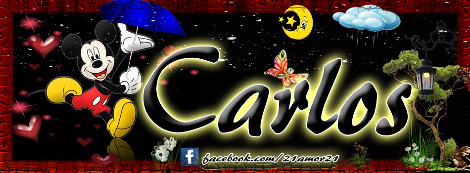 Portadas para tu Facebook con tu nombre, Carlos