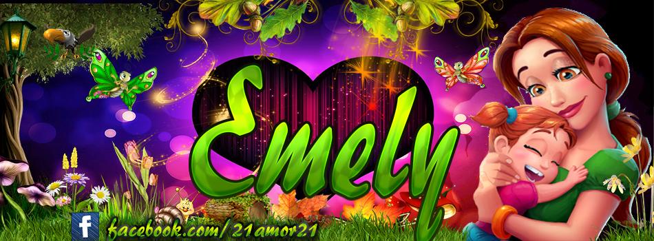 Portadas para Facebook de Emily's con tu nombre,Emely