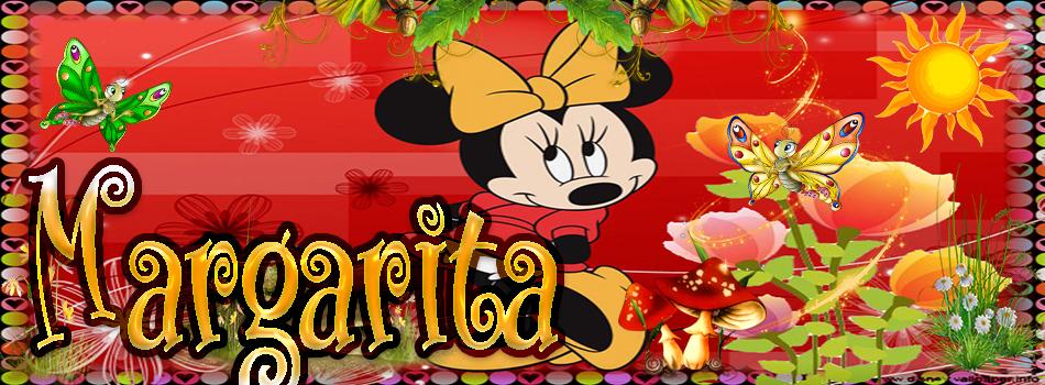 TU miki mouse con tu Nombre,Margarita