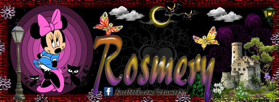 Portadas para tu Facebook con tu nombre, Rosmery