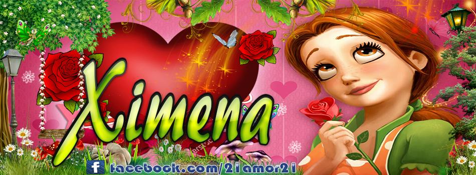 Portadas para Facebook de Emily's con tu nombre,Ximena