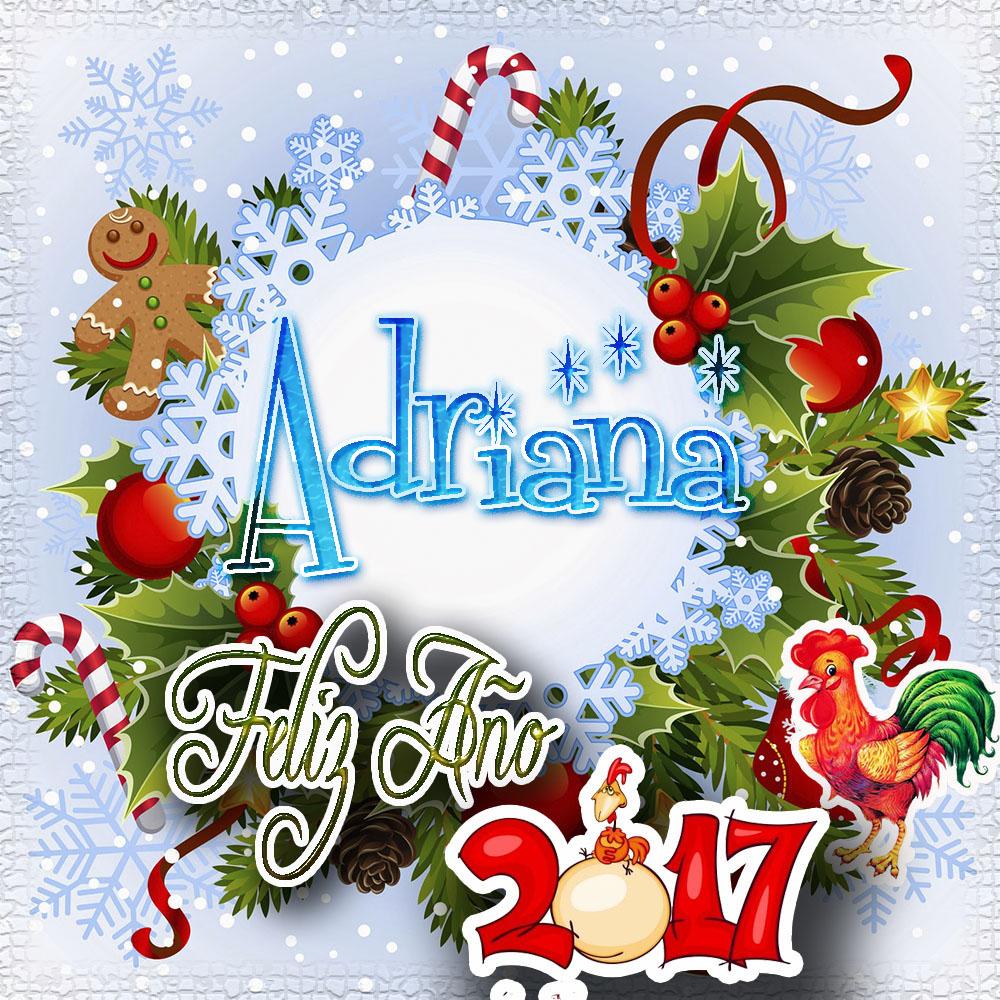 Lindas tarjetas para perfil con tu nombre 2017!!! Adriana