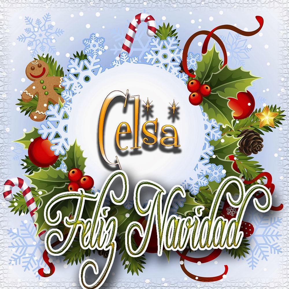 Feliz Navidad, Tarjetas con tu Nombre!!! Celsa