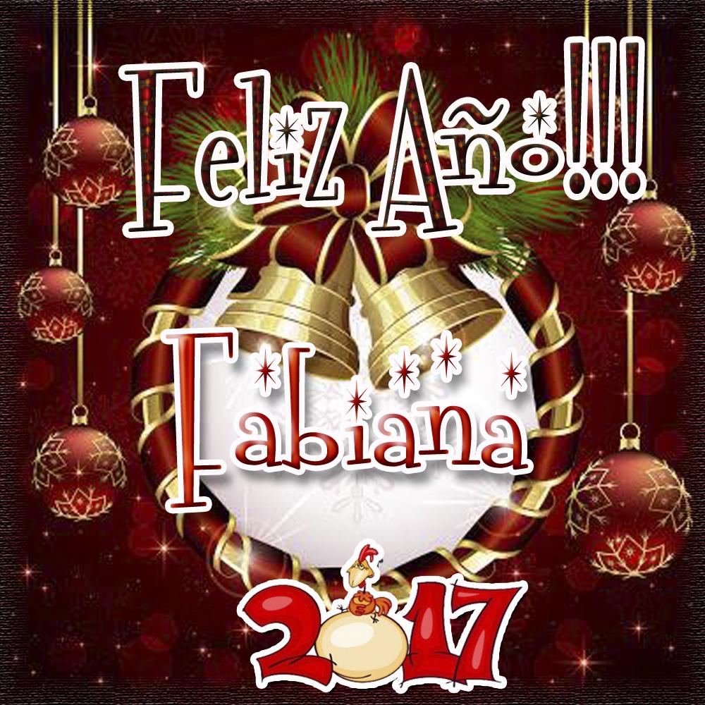 Lindas tarjetas para perfil con tu nombre 2017!!! Fabiana