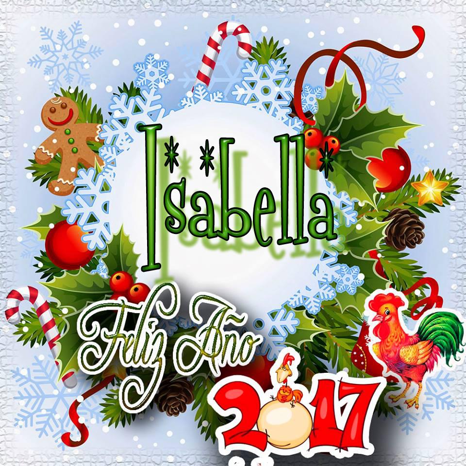 Lindas tarjetas para perfil con tu nombre 2017!!! Isabella