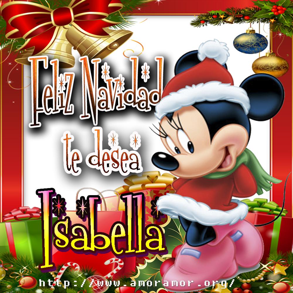 Tarjetas de Navidad con tus deseos!!! Isabella