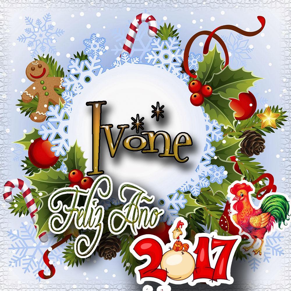 Lindas tarjetas para perfil con tu nombre 2017!!! Ivonne