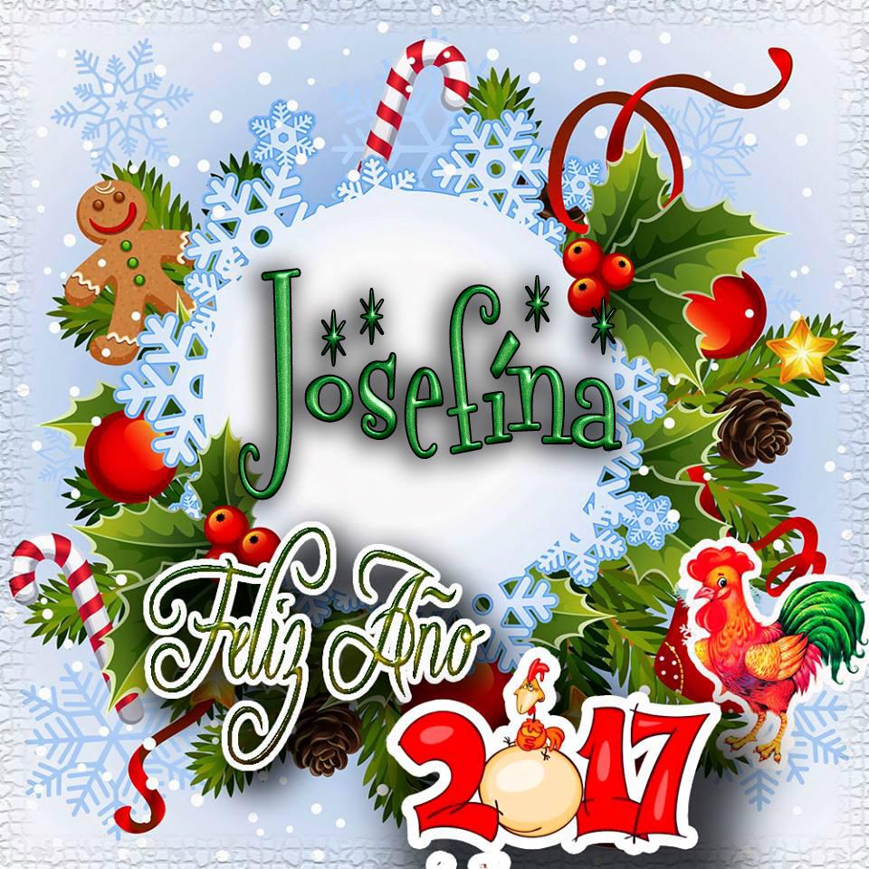 Lindas tarjetas para perfil con tu nombre 2017!!! Josefina