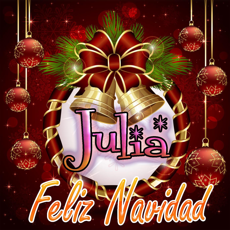Feliz Navidad !!! Julia