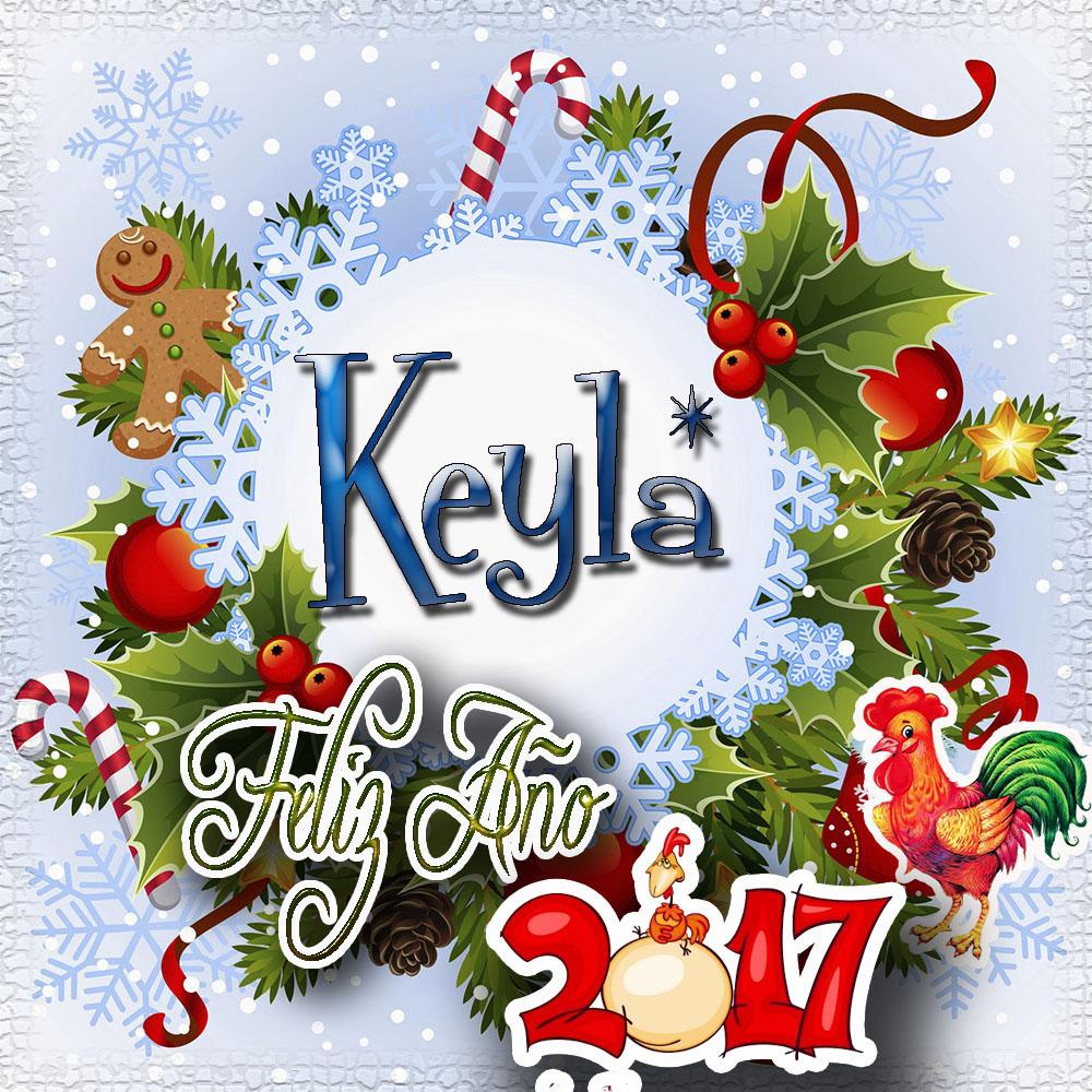 Lindas tarjetas para perfil con tu nombre 2017!!! Keyla