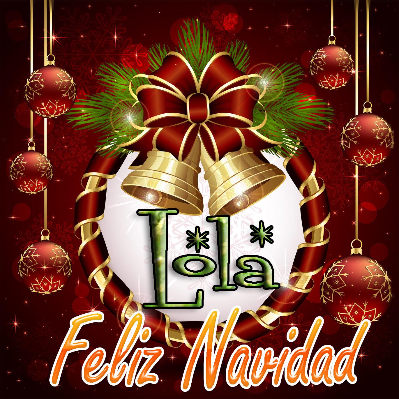 Feliz Navidad !!! Lola