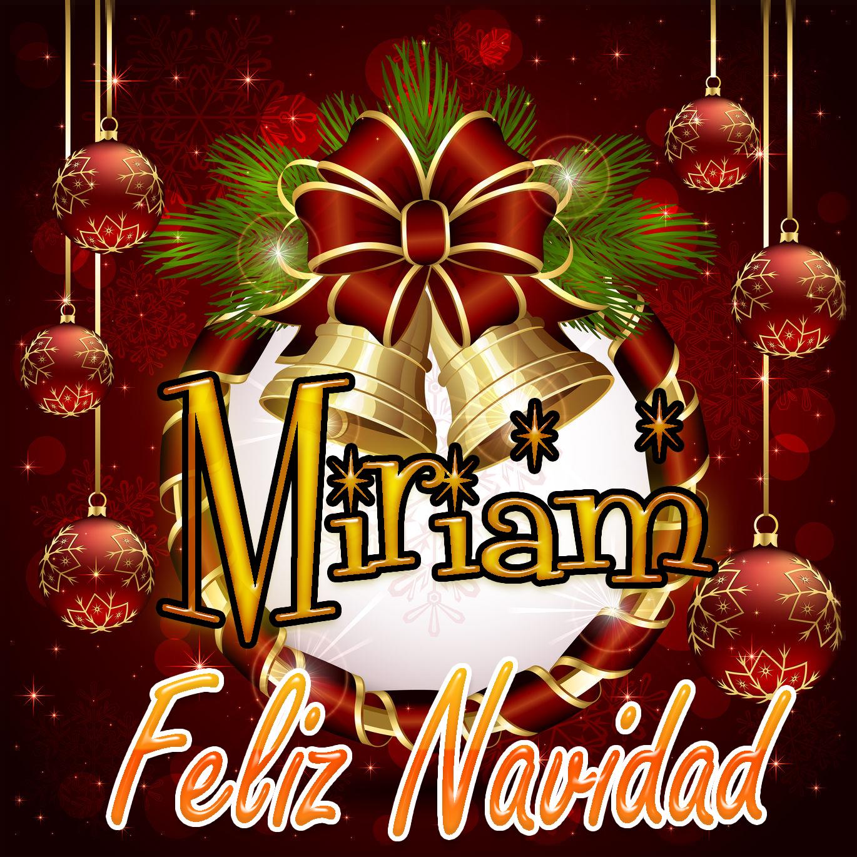 Feliz Navidad !!! Miriam